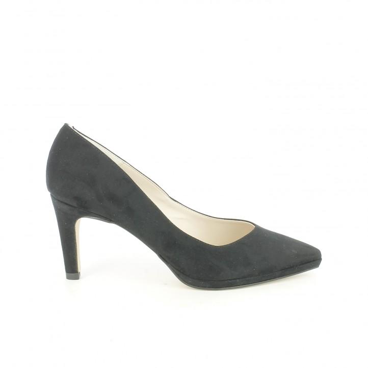 zapatos tacon suite009 stilettos negros plantilla de piel
