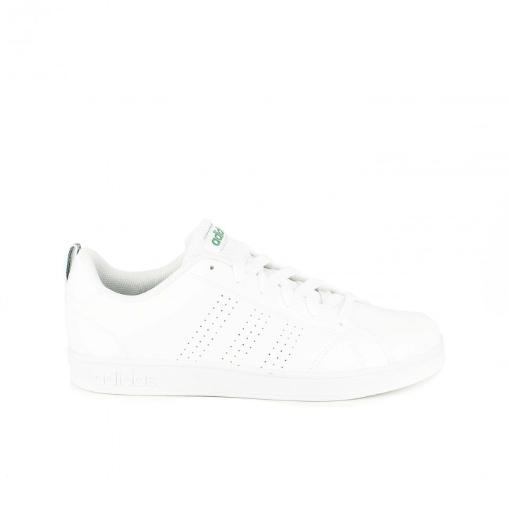 zapatillas deportivas adidas advantage clean blancas