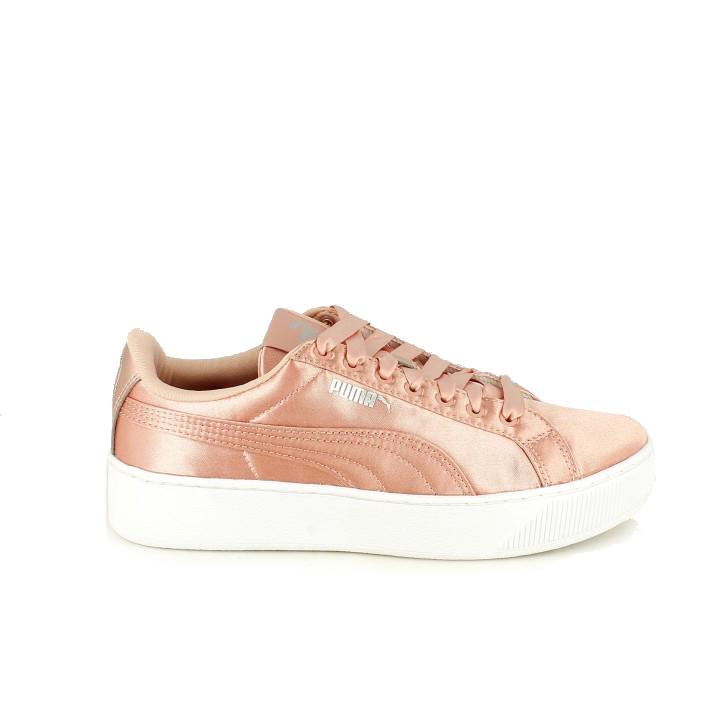 Zapatillas deportivas Puma vikky rosas - zapatillas rosa