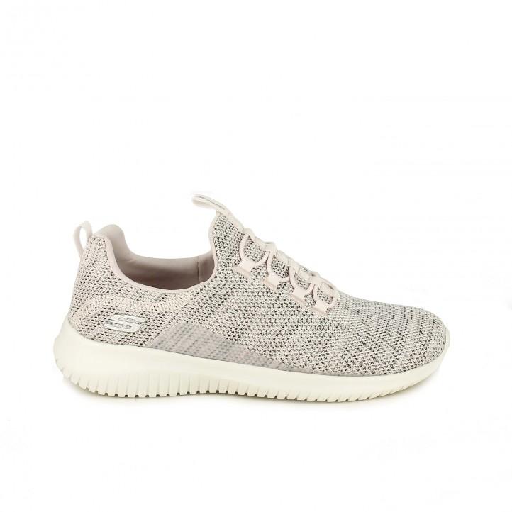 los recién llegados f7cc9 ca751 zapatillas-deportivas-skechers-rosas-sin-cordones | Blog Querol
