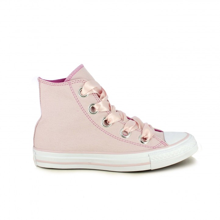 Zapatillas lona Converse All Star rosas - zapatillas rosa