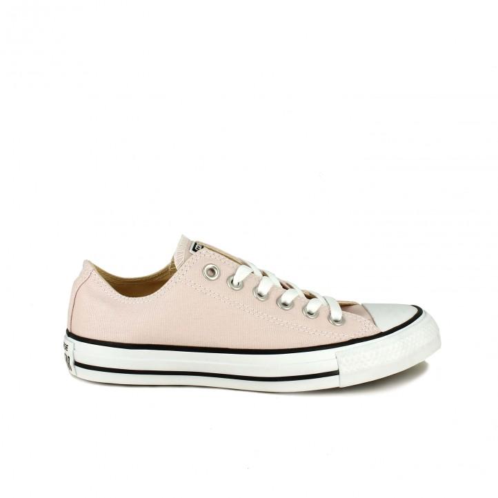 zapatillas lona converse chuck taylor all star bajas rosas